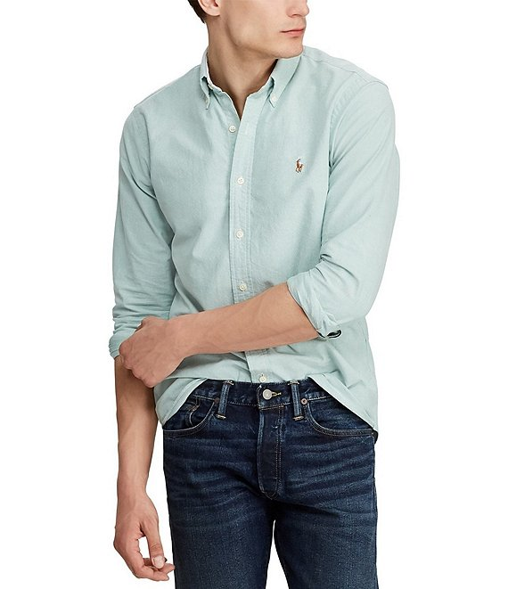 Polo Ralph Lauren Big & Tall Oxford Long-Sleeve Woven Shirt