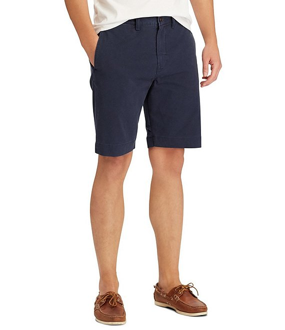 Color:Ink - Image 1 - Big & Tall Classic Fit 9 1/2#double; and 10 1/2#double; Inseam Stretch Shorts