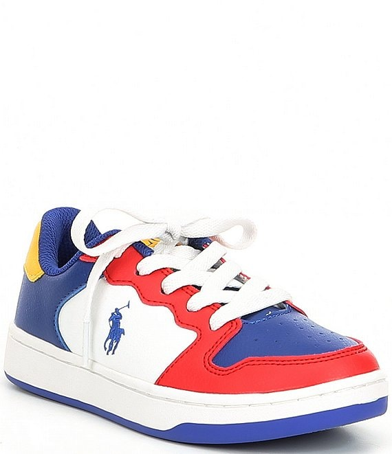 Color:Red/Royal/Yellow - Image 1 - Boys' Jessup Sneakers (Youth)