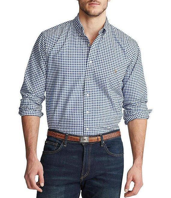 Shirt Checked Lauren Oxford Polo Ralph txCQBshrd