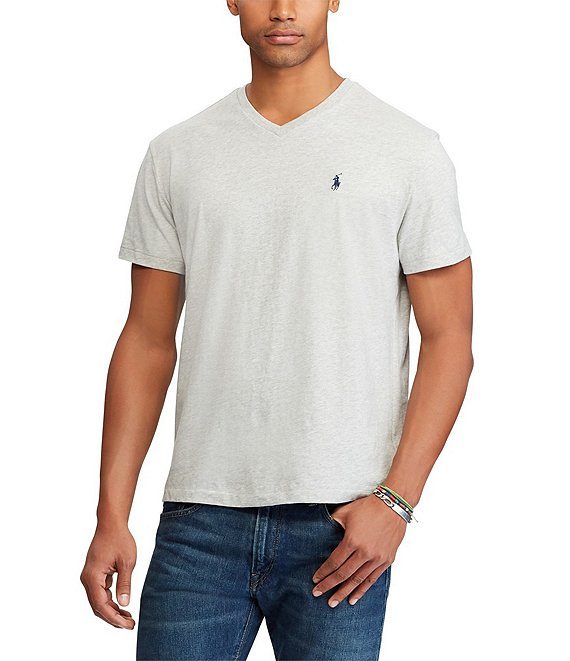 Lauren Fit Sleeve Ralph Short Classic Neck Tee Polo V yvf6gb7IY