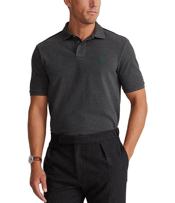 Polo Ralph Lauren Classic-Fit Solid Mesh Polo Shirt