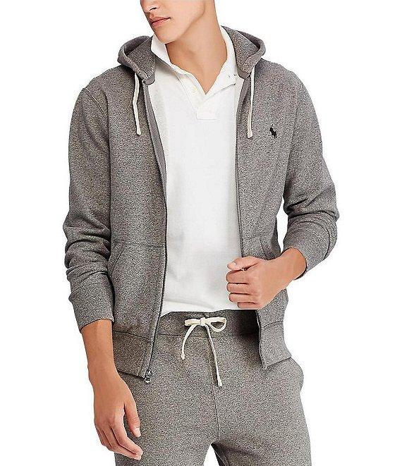 b4e623c33 Polo Ralph Lauren Classic Solid Fleece Hoodie Jacket