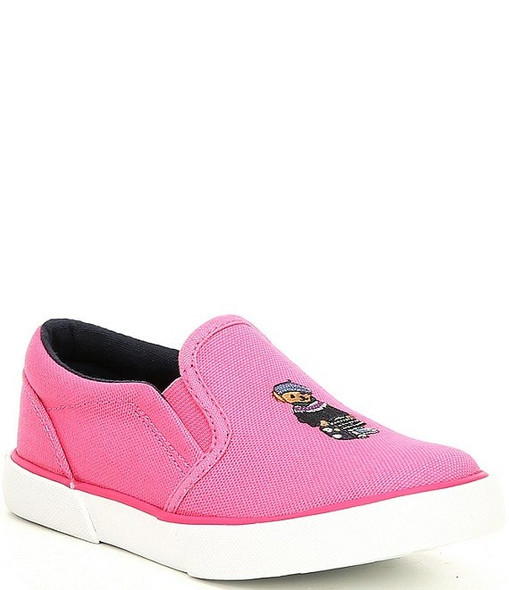 Color:Pink - Image 1 - Kids' Bal Harbour II Bear Sneakers (Infant)