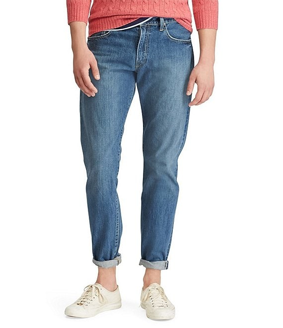 db478f063 Polo Ralph Lauren Hampton Relaxed Straight-Fit Stanton Wash Jeans ...