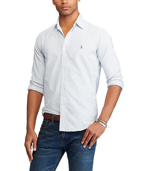 ac36c6765973f7 Polo Ralph Lauren Multi-Striped Oxford Shirt   Dillard's