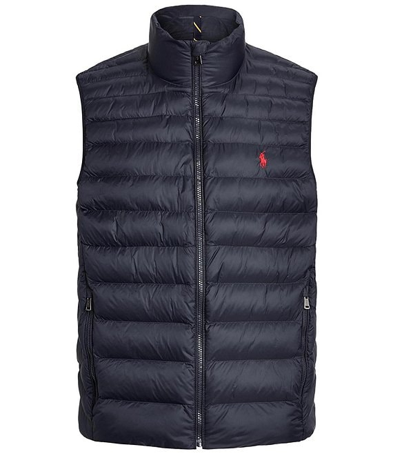 Color:Navy - Image 1 - Packable Quilted Vest