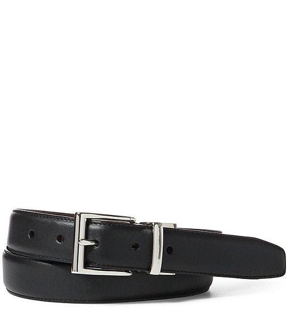 Leather double; Polo Laurendouble;saddle Ralph Belt Reversible PiXZTOku
