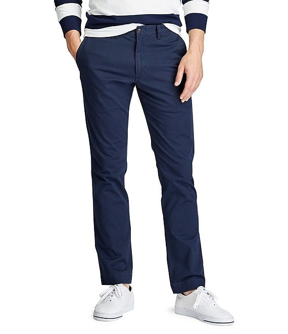 various kinds of 100% authenticated attractive colour Polo Ralph Lauren Slim-Fit Stretch Chino Pants