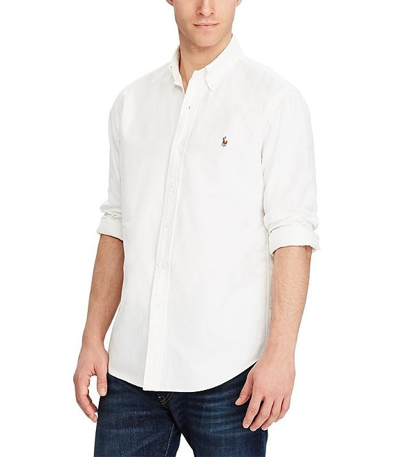 236fc20f9f Polo Ralph Lauren Solid Oxford Shirt | Dillard's
