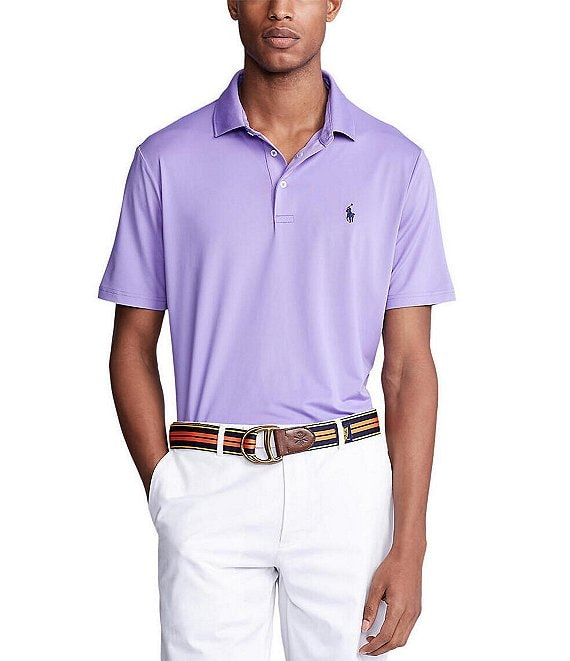 Polo Ralph Lauren Solid Short-Sleeve Performance Polo Shirt
