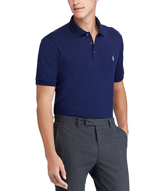 Polo Ralph Lauren Classic-Fit Stretch Mesh Short-Sleeve Polo Shirt