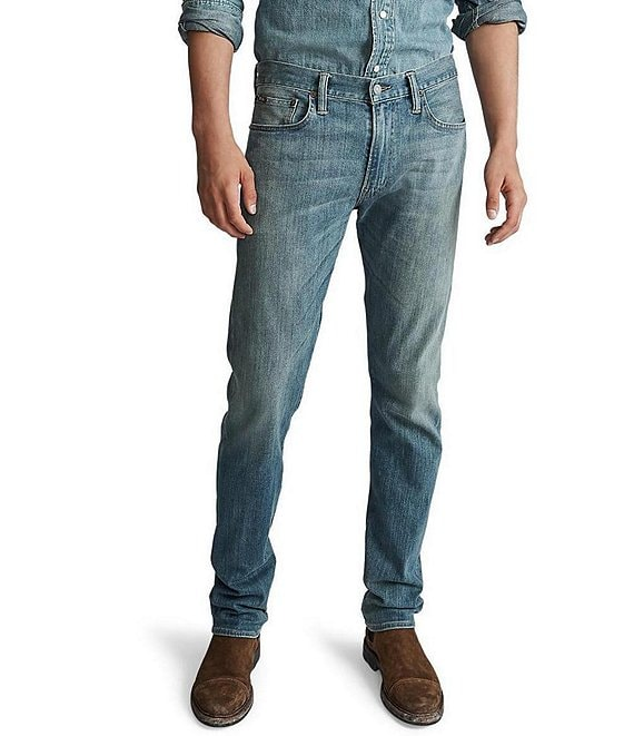 1339cda8 Polo Ralph Lauren Varick Slim-Straight Stretch Jeans