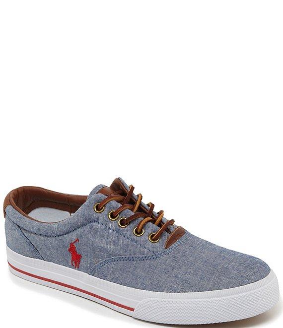dbdc670f91bb Polo Ralph Lauren Men s Vaughn Chambray Sneakers