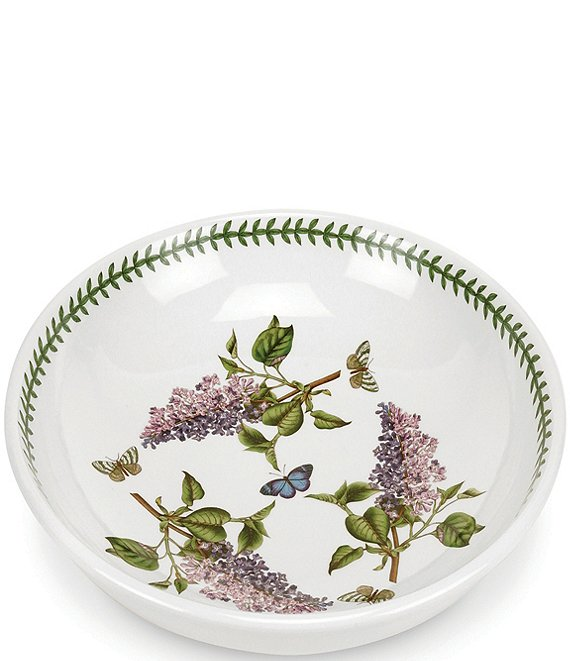 Portmeirion Botanic Garden Lilac Pasta/Low Fruit Bowl
