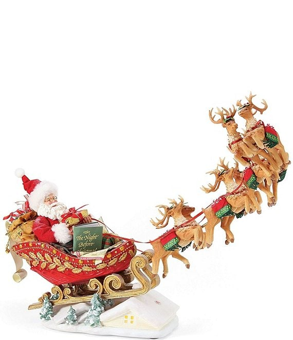 Possible Dreams 35th Anniversary Edition Dash Away All Santa Figurine