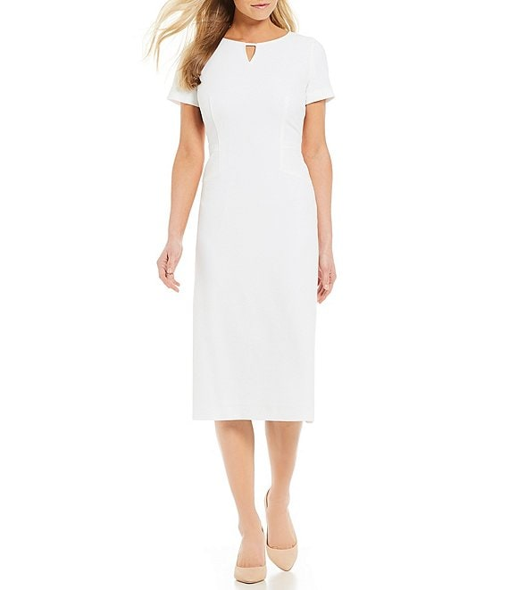Preston & York Isabel Short Sleeve Sheath Dress