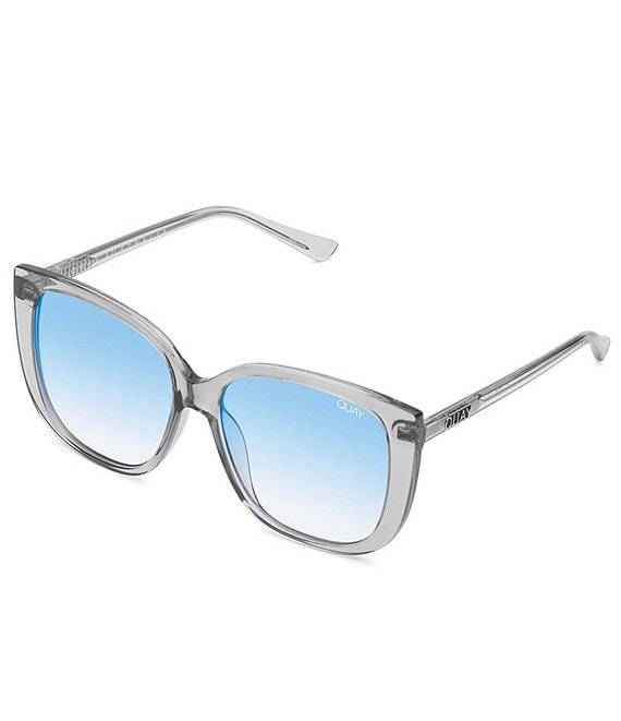 Color:Grey Blue - Image 1 - Ever After Square Sunglasses