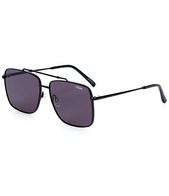 Color:Black - Image 1 - Hot Take Aviator Sunglasses