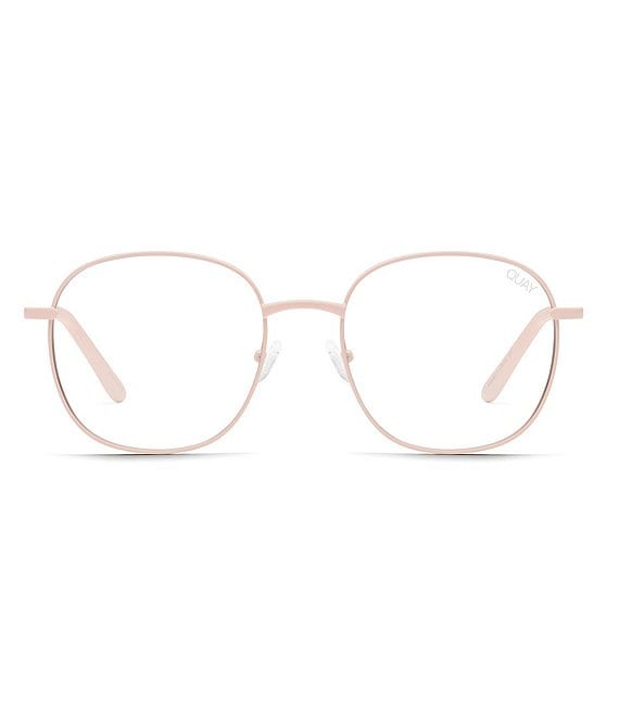 Color:Pink - Image 1 - Jezabell Round Blue Light Glasses