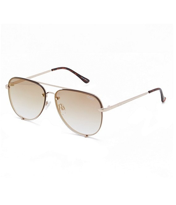 Color:Gold Brown - Image 1 - High Key Mini Sunglasses