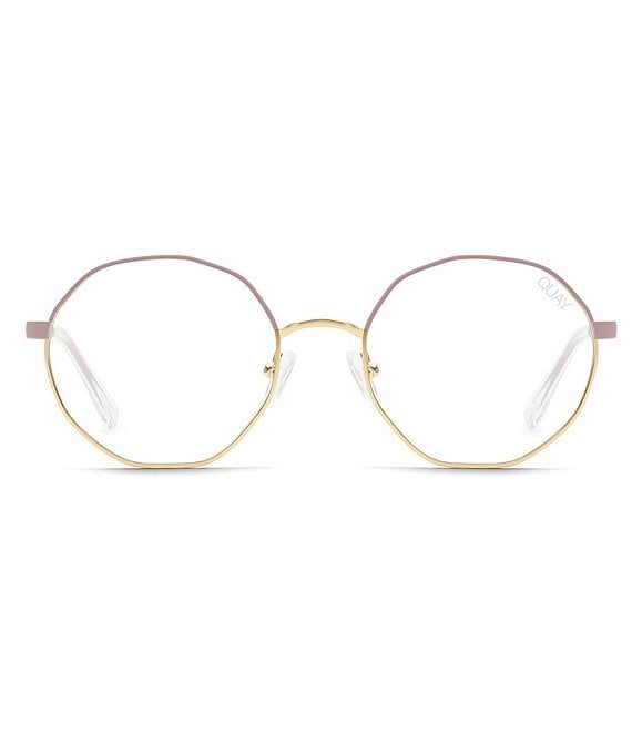 Quay Eclectic Round Blue Light Glasses