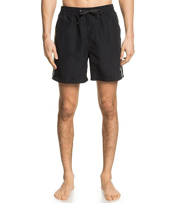Quiksilver Beach Please Volley Recycled Materials 17#double; Outseam Swim Trunks