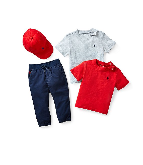 Ralph Lauren Childrenswear Baby Boys 3-24 Months Classic Layette Separates Bundle Collection