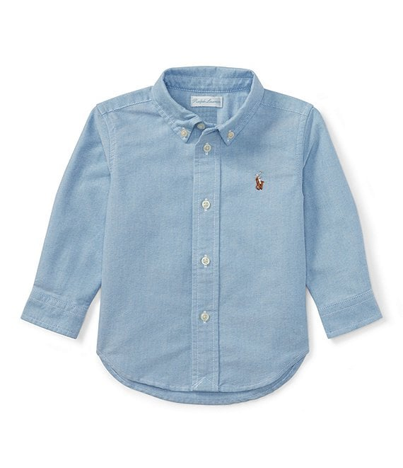 Ralph Lauren Childrenswear Baby Boys 3-24 Months Long-Sleeve Oxford Shirt