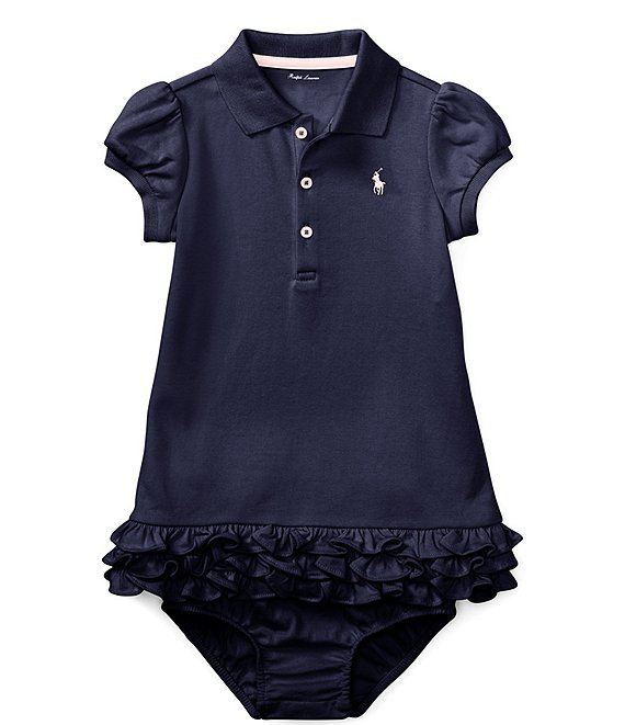 4cecbed921 Ralph Lauren Childrenswear Baby Girls 3-24 Months Polo Cupcake Dress