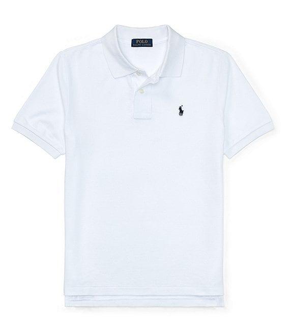 cae2d7632 Ralph Lauren Childrenswear Big Boys 8-20 Classic Mesh Polo Shirt ...