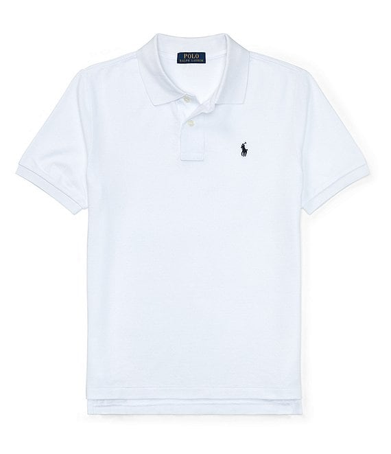 Ralph Lauren Childrenswear Big Boys 8-20 Classic Mesh Polo Shirt