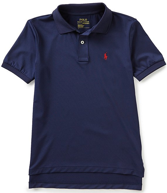 Ralph Lauren Childrenswear Big Boys 8-20 Solid Short-Sleeve Polo Shirt