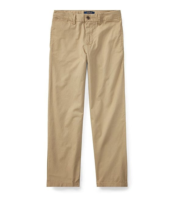 Polo Ralph Lauren Childrenswear Big Boys 8-20 Suffield Flat Front Chino Pants