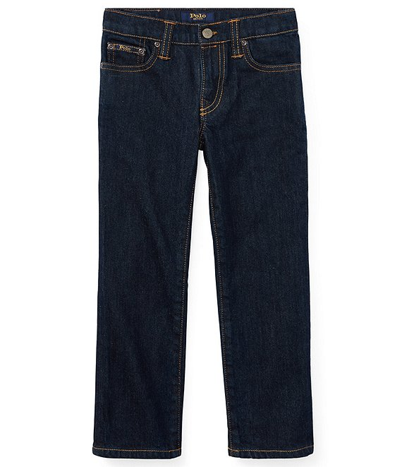 Color:Vestry - Image 1 - Childrenswear Little Boys 2T-7 Hampton Denim Jeans