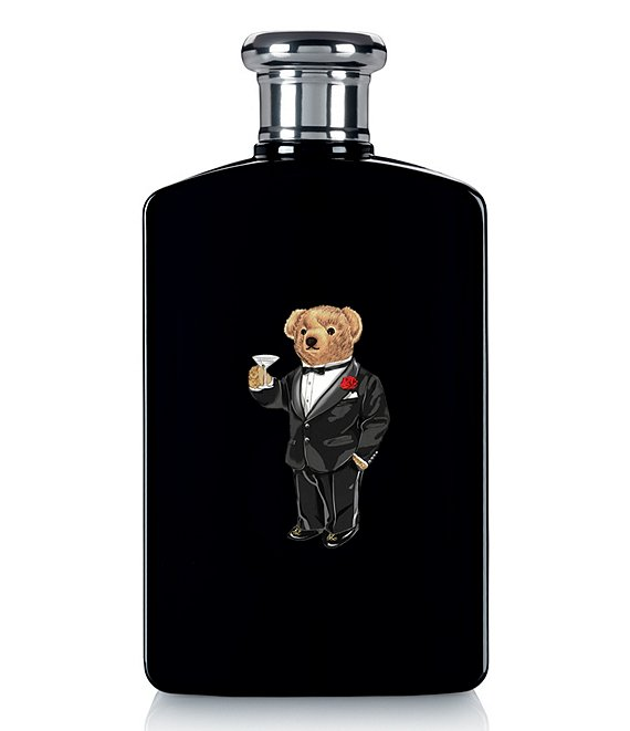 Ralph Lauren Holiday Bear Edition Polo Black Eau de Toilette Spray
