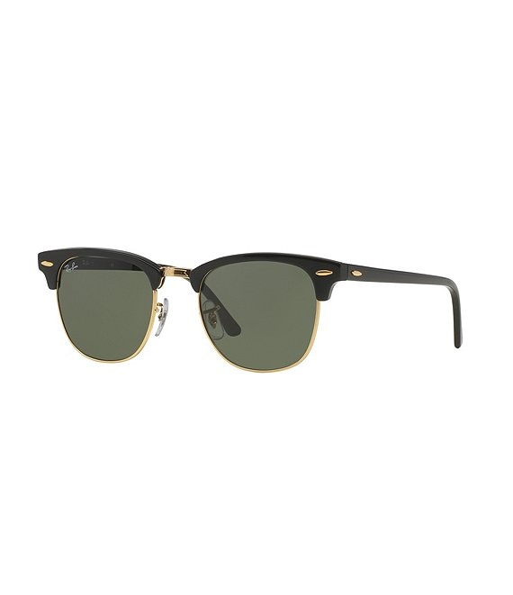 Color:Black - Image 1 - Clubmaster® Classic UV Protection Square Sunglasses