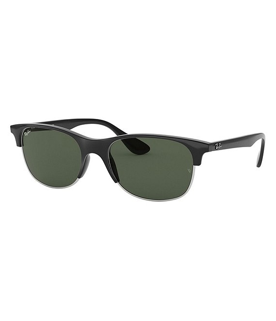 Color:Dark Green - Image 1 - Highstreet Square Sunglasses