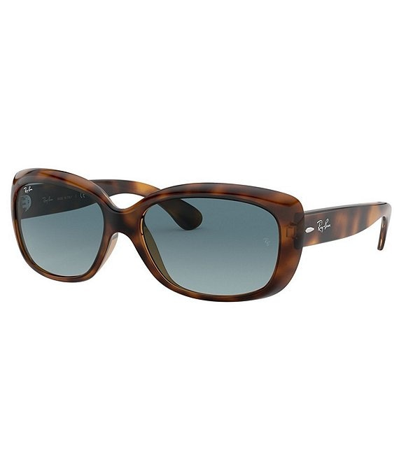 Color:Blue Havana - Image 1 - Jackie Ohh Butterfly Frame Sunglasses