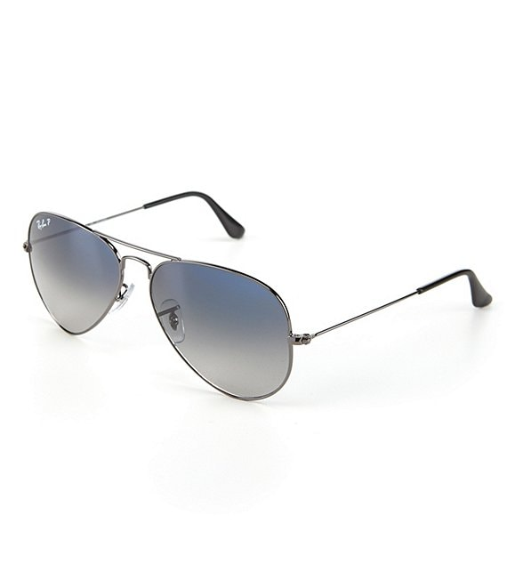 27d0f4e71d2ee Ray-Ban Polarized Metal UV Protection Aviator Sunglasses