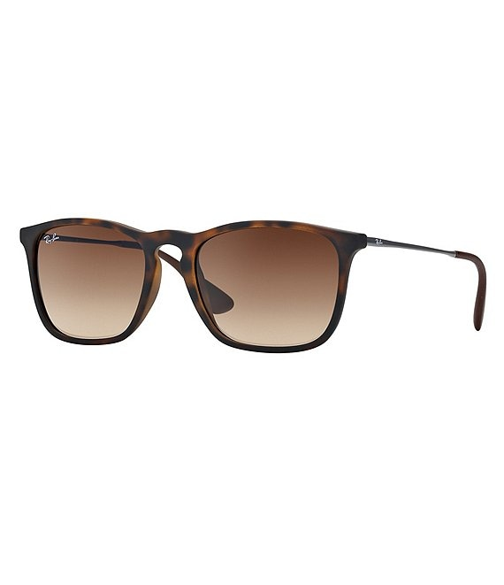 Color:Brown - Image 1 - Gradient Way Keyhole Square Sunglasses