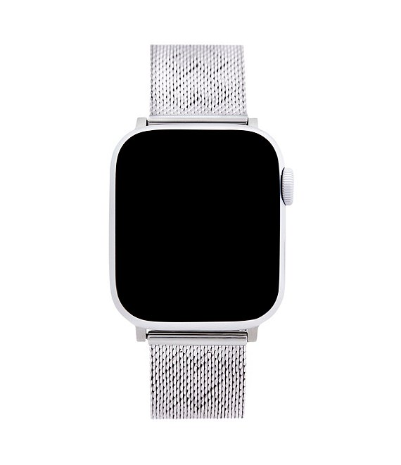 Rebecca Minkoff Silver Mesh Bracelet Apple Watch® Strap
