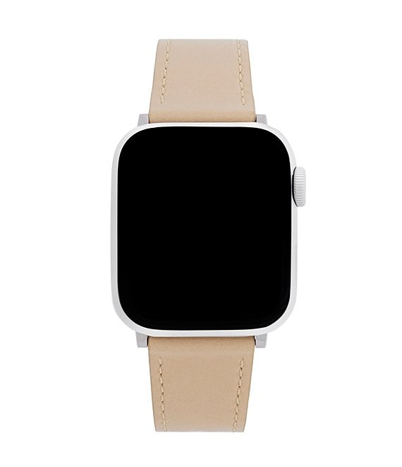 Color:Vachetta - Image 1 - 38/40mm Vachetta Leather Apple Watch® Strap