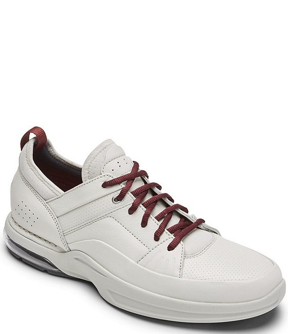 Color:Off White - Image 1 - Men's Howe Street Lace Up Leather Sneakers