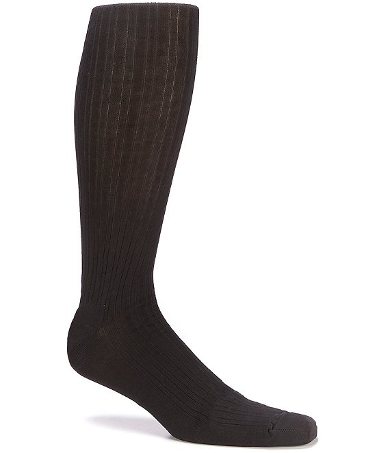 Roundtree & Yorke Big & Tall Solid Over-the-Calf Socks 3-Pack