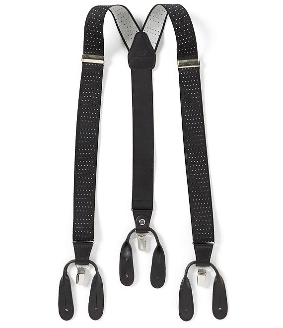 Color:Black - Image 1 - Dotted Suspenders
