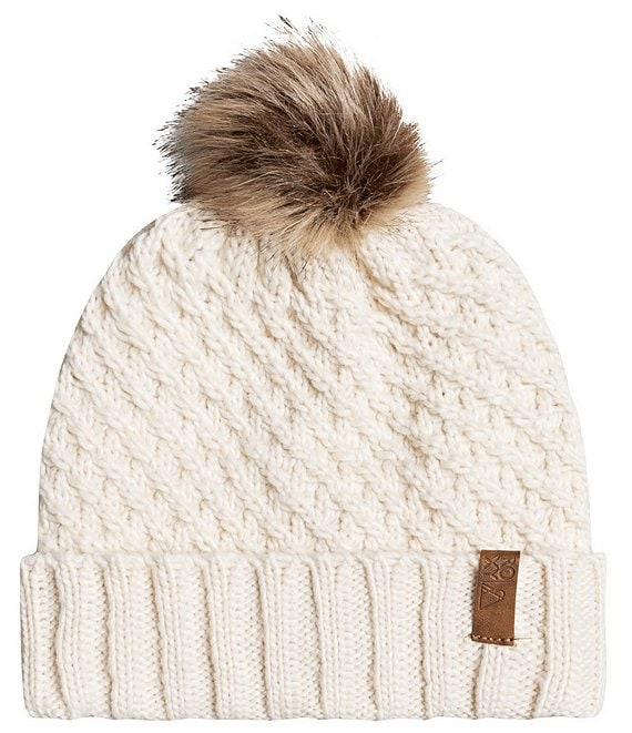Color:Angora - Image 1 - Blizzard Snow Beanie
