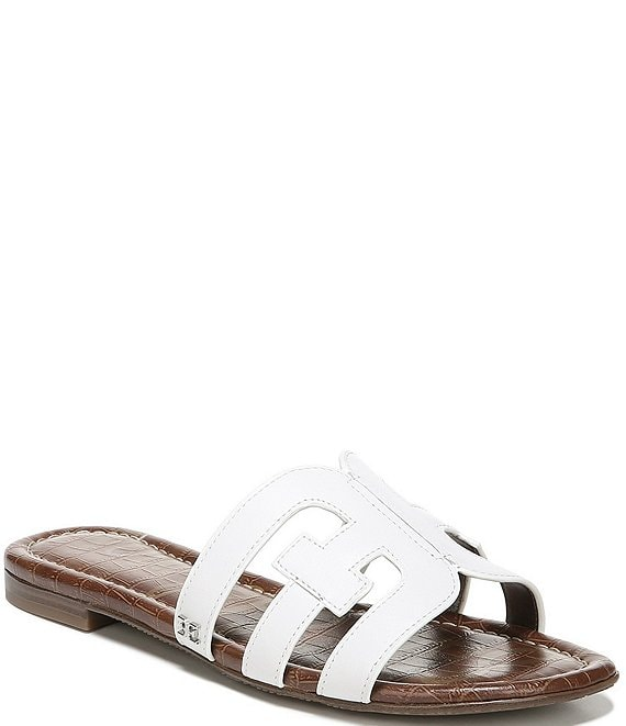 Color:Bright White - Image 1 - Bay Double E Sandals