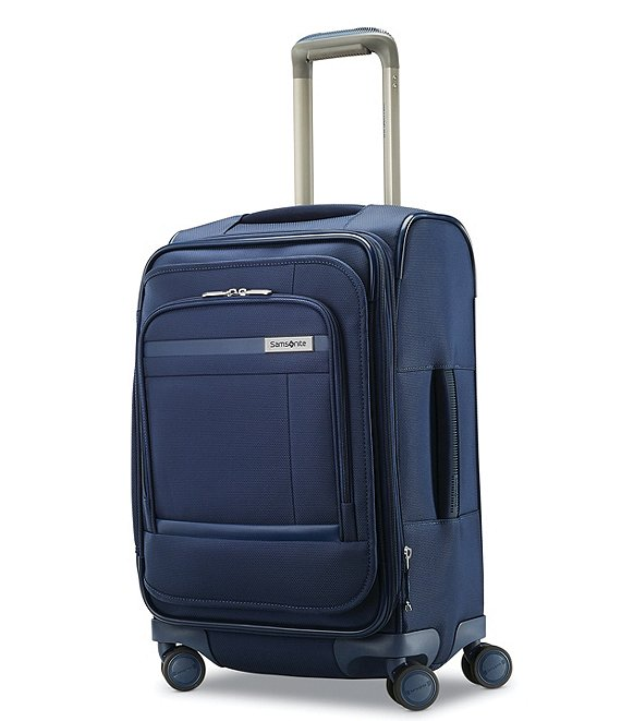 Color:Atlantic Blue - Image 1 - Insignis Smart Lightweight Durable Carry-On Spinner