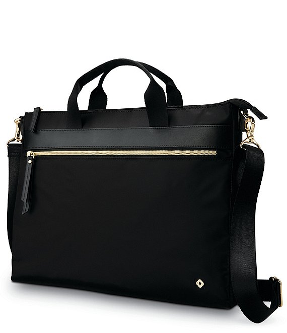Color:Black - Image 1 - Mobile Solution Convertible Slim Briefcase